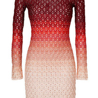 Missoni - Sunset-Multi Lurex Knit Dress