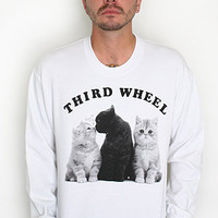 Third Wheel Kitty Sweatshirt