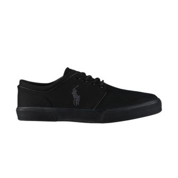 Mens Faxon Casual Shoe by Polo Ralph Lauren, Black Grey, at Journeys Shoes