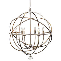 Eclipse Chandelier - Olde Silver  | Hanging-lamps | Mirrors-and-lighting | Z Gallerie