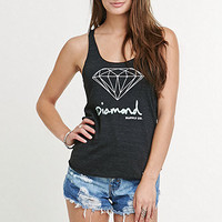 Diamond Supply Co Diamond Script Racer Tank at PacSun.com