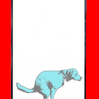 dog and apple :) iphone, iPhone 4 case, iPhone 4 cover,iPhone 4s case, iPhone 4s cover