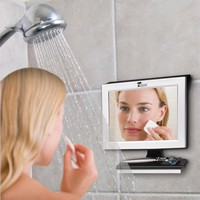 Fogless Shower Mirror with Squeegee by ToiletTree Products. Guaranteed Not to Fog, Designed Not to Fall. #1 Selling and Ranked by Amazon Cus