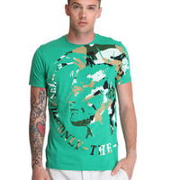 DJPremium.com - Men - Shop by Brand - Diesel - Shirts - T-Shirts - T-Fleet Indian Head Camo Tee