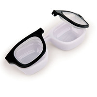 Kikkerland Design Inc    Products   Retro Specs Contact Lens Case