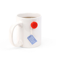 Kikkerland Design Inc   » Products  » 6 Red Tea Buttons