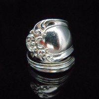 Spoon Ring Eco Friendly Silverware Jewelry - Astoria