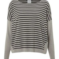 Pirano oversized striped jumper