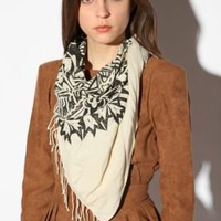 UrbanOutfitters.com &gt; OBEY Ornamental Scarf