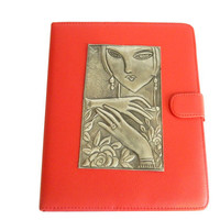 Apple IPad Leather Case lady face