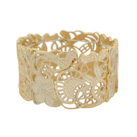 Stretchy Filigree Bracelet | FOREVER21 - 1000044664