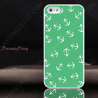 Anchor Print phone shell - iphone case iphone 4 case iphone 4s case