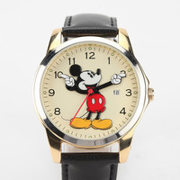 Oversized Mickey Mouse Watch