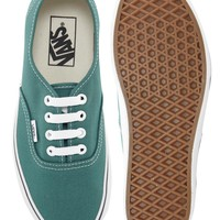 Vans Authentic Harbor Blue Lace Up Trainers