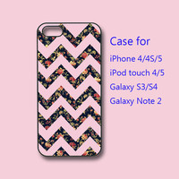 chevron pattern, iPhone 5 case, iPhone 4 case, ipod touch case, Samsung galaxy s3 case ,samsung galaxy s4 case, samsung galaxy note 2 case