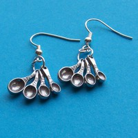 I Love to Cook and Bake Earrings with Tiny by SaritasJewelryBox