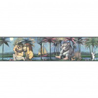 Room Mates Licensed Designs Where the Wild Things Are Border - RMK1419BCS - Wallpaper - Wall Art &amp; Coverings - Decor