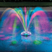 Musical Underwater Light Show &amp; Fountain