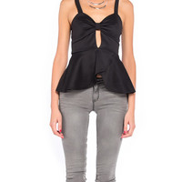 Bow Front Peplum - 2020AVE