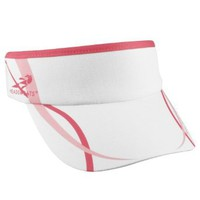 Amazon.com: Headsweats Women&#x27;s Eventure Supervisor Stripes High Performance Running Visor, White/Pink/Hot Pink, One Size Fits All: Clothing