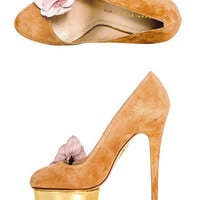 Dolly orchid shoes | Charlotte Olympia | MATCHESFASHION.COM