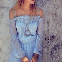 Free People Juliet Off Shoulder Dress
