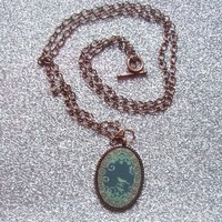 Songbird - Copper Pendant Necklace from On Secret Wings