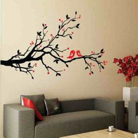 Birds and Blossom Wall Sticker - Stickers Wall