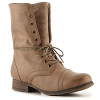 Shop  Madden Girl Gamer Combat Boot Larger View