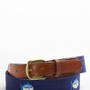 Skipjack Needlepoint Belt