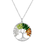 TREE OF LIFE NECKLACE - FOUR SEASONS