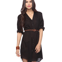 Pleated Shirtdress | FOREVER21 - 2011409453