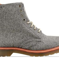 Dr. Martens Beckett in Grey at Solestruck.com