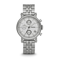 ES2198 - Boyfriend Chronograph Stainless Steel Watch