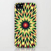 Layered Pattern iPhone & iPod Case by Abstracts by Josrick
