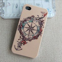 Tribal Hybrid anchor Impact Case for iphone 4/4s