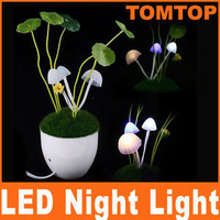 LED Night Light Avatar Mushroom Lamp Decoration Gift