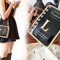 Fashion Story Book Leather Clutch Bag