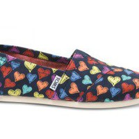 Multi Hearts Women&#x27;s Classics | TOMS.com