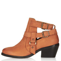 ADVANCE Cut Out Western Boots - View All - Shoes - Topshop USA