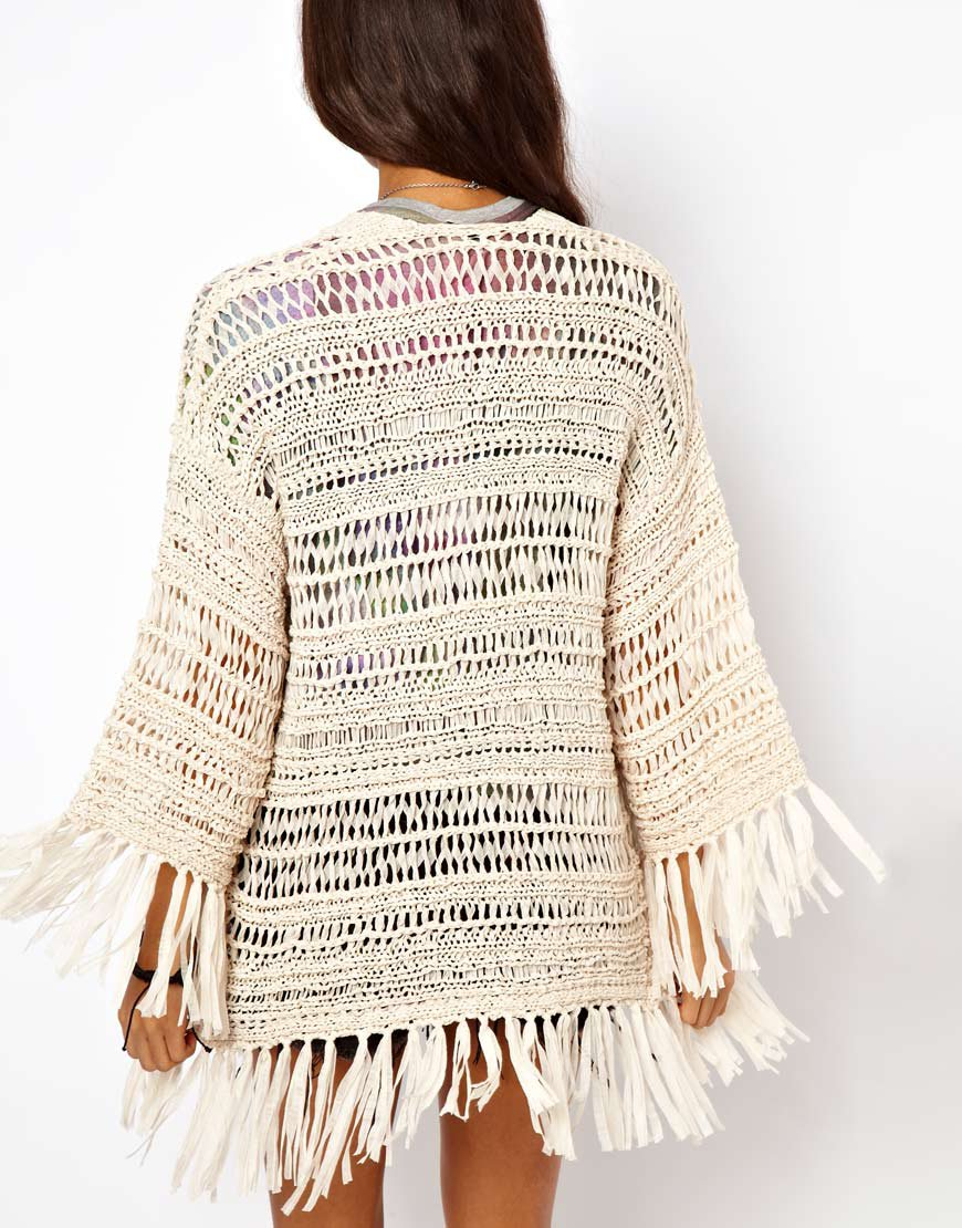 Crochet Kimono : ASOS Kimono Cardigan In Crochet With from ASOS Epic Wishlist