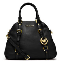 MICHAEL Michael Kors  Large Bedford Pebbled Bowling Satchel