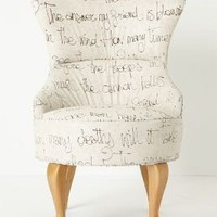 Archibald Chair, Egoiste - Anthropologie.com