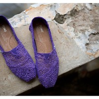 Purple Crochet Women&#x27;s Classics