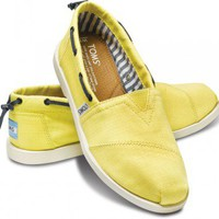 Yellow Nautical Women's Biminis