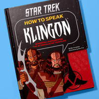 Star Trek How To Speak Klingon