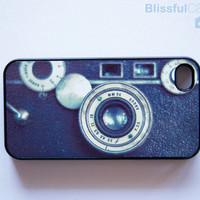 iphone 4 case vintage retro camera by BlissfulCASE on Etsy