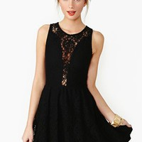 Lulu Dress - Black Lace