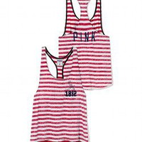 St. Louis Cardinals High-Low Striped Tank - PINK - Victoria's Secret