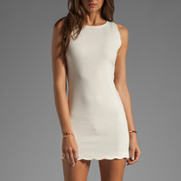 For Love & Lemons EXCLUSIVE Rosarito Dress in Ivory from REVOLVEclothing.com